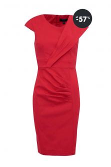 Akcia - červené letné šaty Fever London