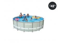 Bazén Intex Frame Set Ultra Rondo 488 cm (najlacnejšie)
