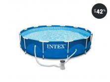 Bazén v akcii Intex Frame Set Rondo 366 cm