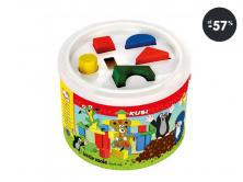 Hračky pre najmenšie kostky v kbelíku BINO (akcia)