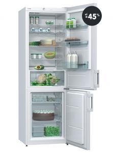 Kombinovaná chladnička s mrazničkou Gorenje (biela farba)