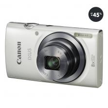 Kompaktný fotoaparát lacný Canon IXUS 160 biely
