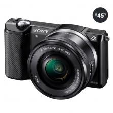 Kompakt s výmenným objektívom Sony Alpha A5000