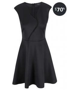 Lacno - spoločenské šaty krátke AX Paris čierne