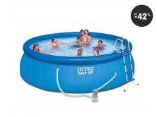 Najlacnejšie bazény - Intex Easy Set 457 cm