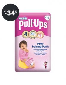 Plienky Huggies Pull Ups Small - Girls