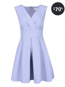 Spoločenské šaty krátke Closet modré