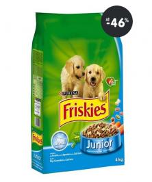 Akcia: Granule pre psov (šteňatá) Friskies
