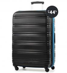 Cestovný kufor Rock (čierny) výpredaj