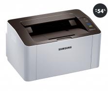 Lacná laserová tlačiareň Samsung SL-M2026 strieborná