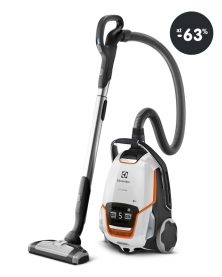 Lacný podlahový vysávač Electrolux (farba biela)