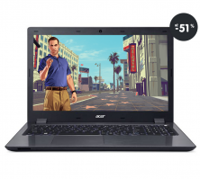 Najlacnejšie notebook herný Acer Aspire V15 čierny