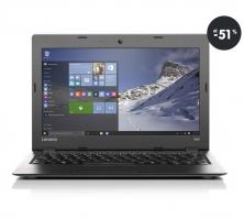 Notebook do 200 EUR - Lenovo IdeaPad 100S strieborný