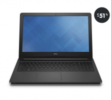 Notebook do 500 EUR Dell Inspiron 15 čierny (výpredaj)