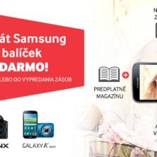 Balíček benefitov k fotoaparátom Samsung