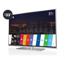 Televízor LG 55LB650V strieborná