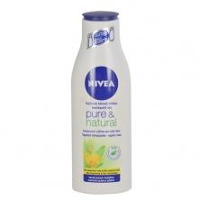 Telové mlieko Nivea Pure & Natural Body Milk - akčná cena 4,23 €