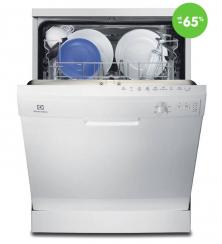 Voľne stojaca umývačka riadu Electrolux (biela)