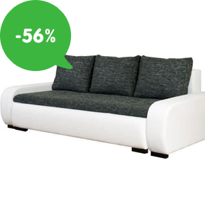 Akcia: Lacné pohovky (rozkladacie, s úložným priestorom) so zľavou až 56%