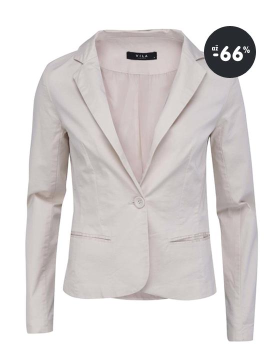 a3c43c5ca Zľavy na dámske oblečenie - malinovo ružový sveter Vero Moda Krémový  blejzer VILA Olla - výpredaj oblečenie ...