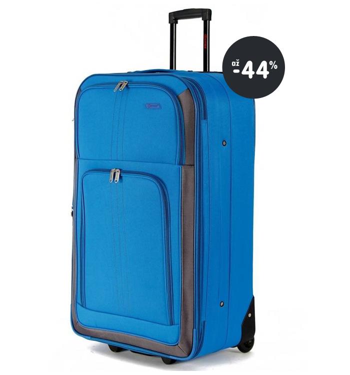 486144daf0897 Výpredaj: Lacné cestovné kufre všetkých veľkostí (až -44%)