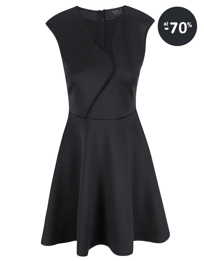 da2c0f9af103 Krátke spoločenské šaty Vero Moda čierne Lacno - spoločenské šaty krátke AX  Paris čierne ...