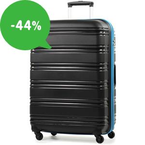 Výpredaj: Lacné cestovné kufre všetkých veľkostí (až -44%)