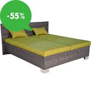 Výpredaj: Lacné manželské postele v ASKO – zľavy až 55%