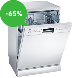 Výpredaj: Lacné umývačky riadu (samostatné/vstavané) (-65%)